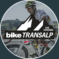 bike transalp logo blue new